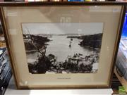 Sale 8491 - Lot 2097 - Pair of reproduction photographs of Mosman Bay 1896 & Mosman Bay circa.1925 (frame size: 48 x 57cm, each)