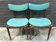 Sale 9039 - Lot 1079 - Pair of Vintage Parker Dining Chairs (h:81 x w:49 x d:47cm)
