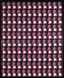Sale 9096A - Lot 5078 - John Vella (1969 - ) - Boxer Brief Body, 2004 106 x 87 cm (frame: 111 x 81 cm )