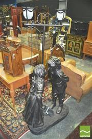 Sale 8371 - Lot 1033 - Child Form Standard Lamp