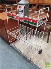 Sale 8451 - Lot 1068 - Castrol Oil Bottle rack