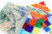 Sale 8594D - Lot 38 - Art Glass Trays (4)