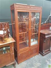 Sale 8648C - Lot 1010 - Rosewood Chinese Display Cabinet