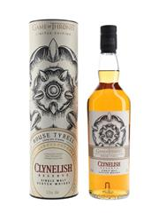 Sale 8785 - Lot 667 - 1x Clynelish Reserve Single Malt Scotch Whisky - Game of Thrones House of Tyrell Limited Edition, 51.2% ABV, 700ml in canister