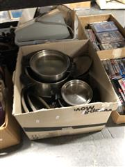 Sale 8819 - Lot 2492 - Collection of Stainless Steel Pots & Pans