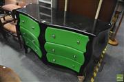 Sale 8386 - Lot 1065 - Modern Bombay 6 Drawer Chest