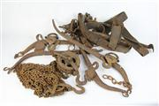 Sale 8391 - Lot 85 - Horse Haines & Part Scales