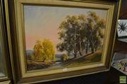 Sale 8464 - Lot 2094 - Nancy McGuigan, Sewells Creek, near Oberon, oil painting, 40 x 55cm, signed lower right