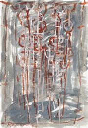 Sale 8781 - Lot 505 - David Rankin (1946 - ) - Family Chorus, 1994 37 x 25cm