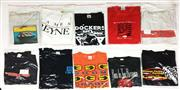 Sale 8926M - Lot 10 - Melbourne Band T-Shirts incl. Boom Crash Opera & Weddings Parties Anything (10)