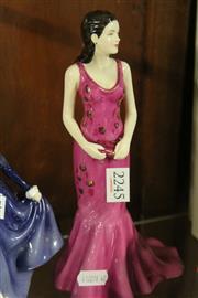 Sale 8336 - Lot 38 - Royal Doulton Figure Pretty Ladies Collection Autumn Breeze