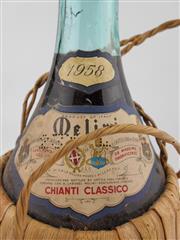 Sale 8454W - Lot 91 - 1x 1958 Melini Chianti Classico, Chianti