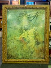 Sale 8659 - Lot 2024 - Large Gilt Framed Print