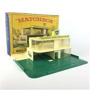 Sale 8559A - Lot 18 - Vintage Matchbox BP Service Station MG-1, boxed