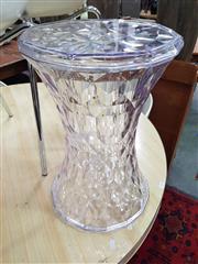 Sale 8669 - Lot 1080 - Pair of Perspex Stools