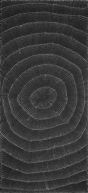 Sale 8733A - Lot 5011 - Lily Kelly Napangardi (1948 - ) - Rockholes 200 x 94cm