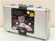 Sale 8855H - Lot 322 - An as-new Casino Poker Chip Set in metal case