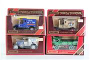 Sale 8960T - Lot 11 - A Set Of Four Matchbox Models of Yesteryear Toy Cars Incl Steam Wagon