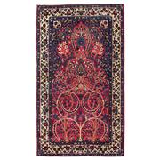 Sale 8971C - Lot 45 - Antique Persian Sarogh Rug, Circa 1940, 105x185cm, Handspun Wool