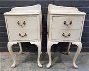 Sale 9026 - Lot 1069 - Pair of Painted Bedsides (h:67 x w:42 x d:40cm)