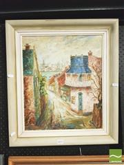 Sale 8413T - Lot 2051 - Artist Unknown, Old Glebe, oil on board, 45 x 37.5cm, signed lower right