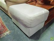 Sale 8447 - Lot 1089 - Leather Ottoman