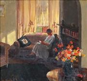 Sale 8583 - Lot 600 - Alessie G Kane (1892 - 1981) - Sunny Corner 39 x 42cm