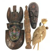 Sale 8685 - Lot 26 - Collection Of Cultural Wares inc Masks