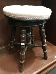 Sale 8822 - Lot 1238 - Mahogany Framed Piano Stool