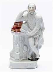 Sale 8873A - Lot 58 - A Staffordshire figure of Shakespeare