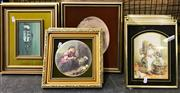 Sale 8941 - Lot 2058 - Collection of Prints incl. Paddington Scenes & 2 Framed Ceramic Plaques