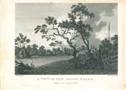Sale 9037A - Lot 5018 - Thomas Medland (c1765 - 1833) - A View In New South Wales,1789 copper engraving