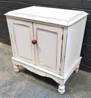 Sale 9026 - Lot 1056 - Painted 2 Door Cabinet (h:71 x w:66 x d:44cm)
