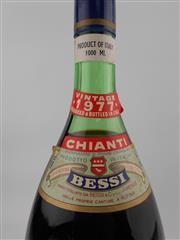 Sale 8454W - Lot 94 - 1x 1977 Bessi, Chianti - 1000ml