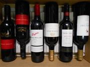 Sale 8519W - Lot 82 - 6x Assorted Red Wines incl. Pepper Tree, Penfolds & Wolf Blass