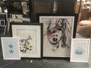 Sale 8686 - Lot 2062 - Collection of 4 Decorative Prints, each framed and various sizes