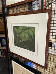 Sale 8936 - Lot 2017 - Terence Millington (1942 - ) Nasturtium aquatint, ed 35/75, 27.5 x 32.5 cm, signed -