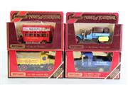 Sale 8960T - Lot 12 - A Set Of Four Matchbox Models of Yesteryear Toy Cars Incl Lowenbreau