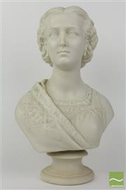 Sale 8481 - Lot 10 - Alexandra Princess Of Wales Bust 1863
