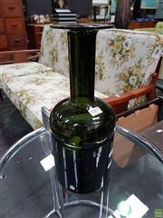 Sale 8566 - Lot 1007 - Holmegaard Green Glass Decanter