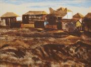 Sale 8633 - Lot 548 - Ray Crooke (1922 - 2015) - Normanton 42 x 56cm