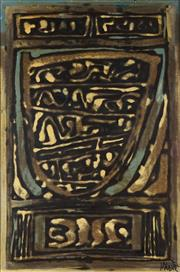 Sale 8781 - Lot 504 - Rodney Milgate (1934 - 2015) - Holograph 90.5 x 60cm