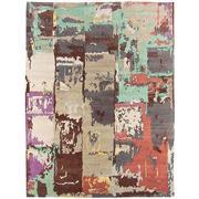 Sale 8971C - Lot 48 - Nepal Jan Kaths Boro Collection, Boro Design Multi 03 Carpet, 300x400cm, Tibetan Highland Wool & Chinese Silk