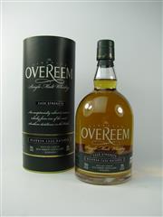 Sale 8329 - Lot 570 - 1x Old Hobart Distillery The Overeem Bourbon Cask Cask Strength Single Malt Tasmanian Whisky - cask no. OHD065, bottle no. 42/50,...