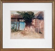 Sale 8420 - Lot 579 - Thomas Garrett (1879 - 1952) - McMahons Point 24 x 29cm