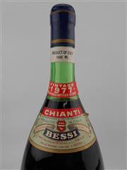 Sale 8454W - Lot 95 - 1x 1977 Bessi, Chianti - 1000ml