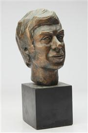 Sale 8662 - Lot 25 - Bronze Head Of a Man