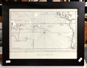 Sale 8941 - Lot 2100 - 1753 Map Print Lim Ed 442/500 29x39cm