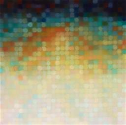 Sale 9154JM - Lot 5020 - MATTHEW JOHNSON (1963 - ) Untitled II oil on linen 80 x 80 cm signed verso