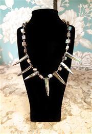 Sale 8577 - Lot 61 - An Abalone shell necklace, L 47cm, Condition: Excellent